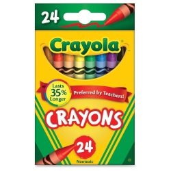 25 pack crayons