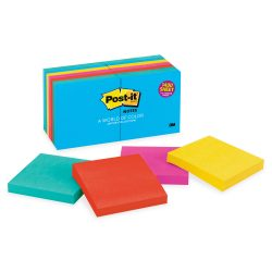 colored 24 pack post its