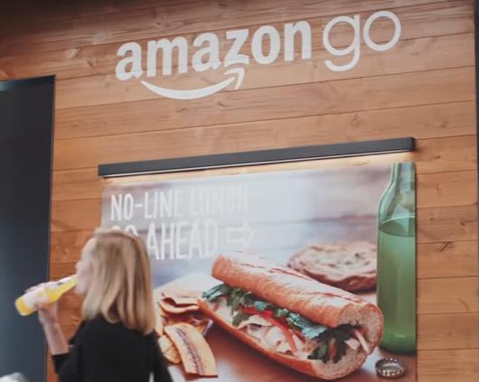 Amazon Go Promotional Video Still